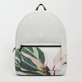Pink Leaves III Backpack
