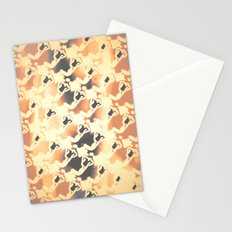 Woman Emerging Pattern C Stationery Cards