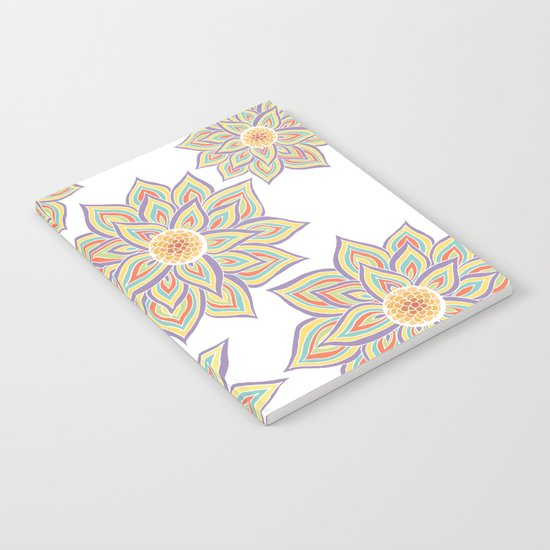 Floral Rhythm Notebook