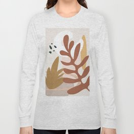Abstract Plant Life II Long Sleeve T-shirt