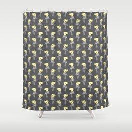 Cute cockatiel Shower Curtain