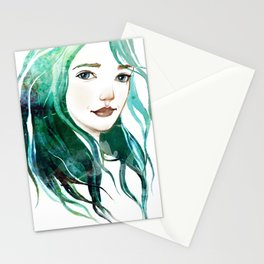 A mermaid Stationery Cards