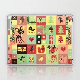 Christmas Geometric Pattern No. 2. Laptop & iPad Skin
