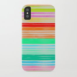 Waves_Multicolor2 iPhone Case