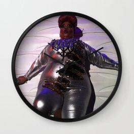 Oooo Drag on Wall Clock