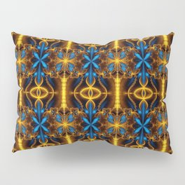 Colorful psychedelic Pillow Sham