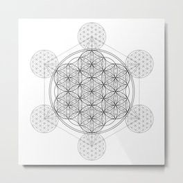 Infinity - The Sacred Geometry Collection Metal Print