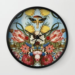 Amanita muscaria Wall Clock