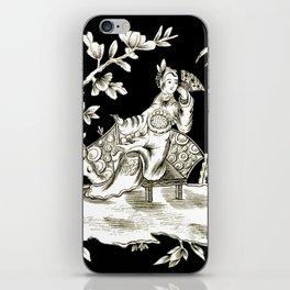 Black & White Chinoiserie iPhone Skin