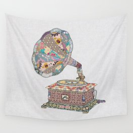 SEEING SOUND Wall Tapestry