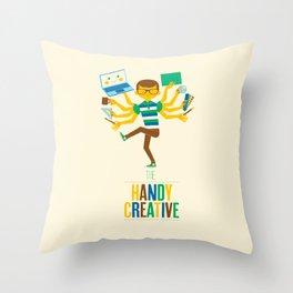 The Handy Creative Throw Pillow