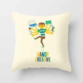 The Handy Creative Throw Pillow