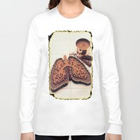 chocolate Long Sleeve T-shirts featuring Chocolate by Richard McGee