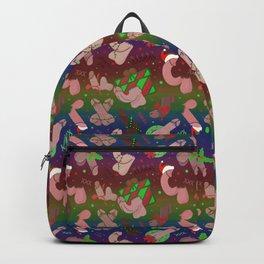 Merry Dickmas, Gay Pride Pattern Backpack