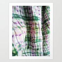 blanket Art Prints featuring BLANKET by JANUARY FROST