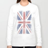 flag Long Sleeve T-shirts featuring Flag by loveme