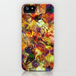 V15 Lovely Traditional Moroccan Pattern Colored Design Waves. iPhone Case