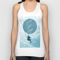 wings Tank Tops featuring Wings by AA Morgenstern