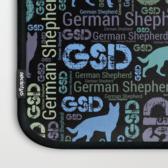 German Shepherd Dog - GSD Laptop Sleeve