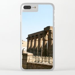 Temple of Luxor, no. 30 Clear iPhone Case