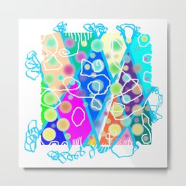 Pop Color 02 Metal Print