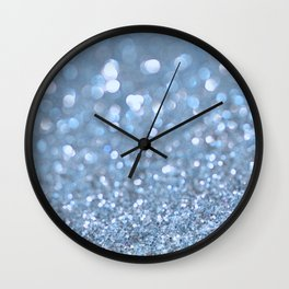 Baby Baby Blue Wall Clock