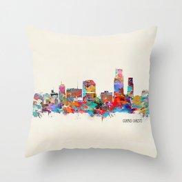 Corpus Christi Texas Throw Pillow