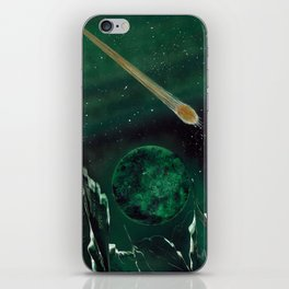 Copper Colored Comet Cometh iPhone Skin