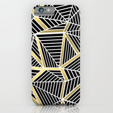 Ab Lines 2 Gold iPhone 6s Slim Case