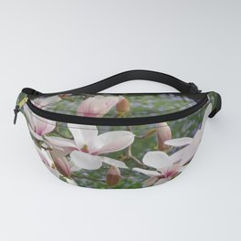 Blooming Pink Magnolia Fanny Pack