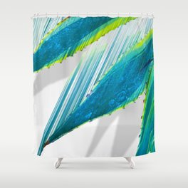 The soaring flight of the agave Shower Curtain