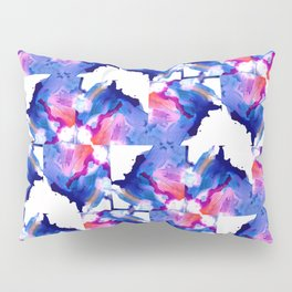 Danbury Abstract Watercolor Painting Pillow Sham