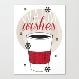 Warm Wishes Canvas Print
