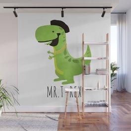 Mr. T-Rex Wall Mural