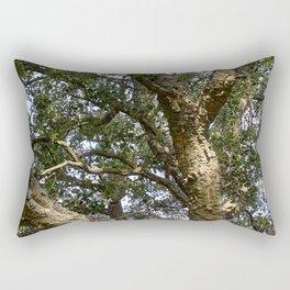 Cork Oak Tree Branches Rectangular Pillow