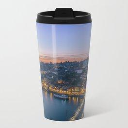 Porto from Serra do Pilar. Travel Mug
