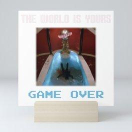 Game Over Mini Art Print