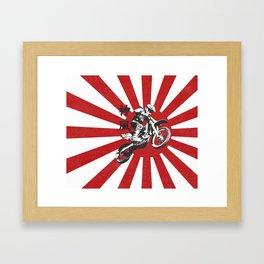 KAMIKAZE Framed Art Print