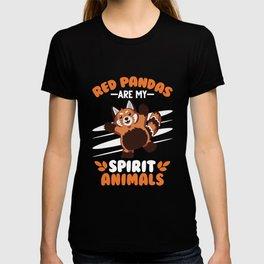 Red Panda Spirit Animal Gift T-shirt