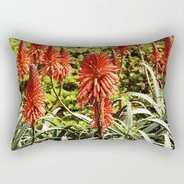 Blooming Aloe Rectangular Pillow