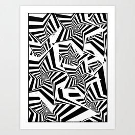 PunkStar Art Print