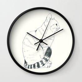 neko Wall Clock