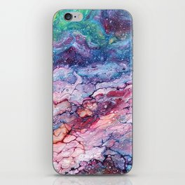Rainbow Dream Groovy Flow #22 iPhone Skin