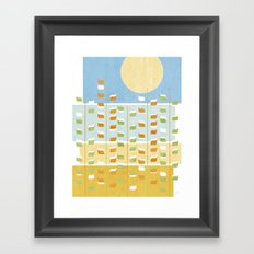 Golden Fields Framed Art Print