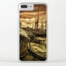 Ships from Essex Maldon Estuary Clear iPhone Case