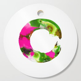 Enso Enlightenment  No.1f by Kathy Morton Stanion Cutting Board