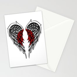 Japanese wings art Stationery Cards