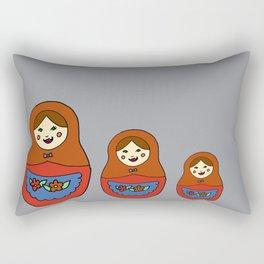 3 Matroyshkas Rectangular Pillow