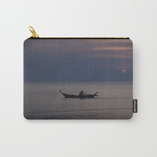 Rowing into the sunset II Carry-All Pouch