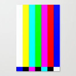 Television Canvas Print